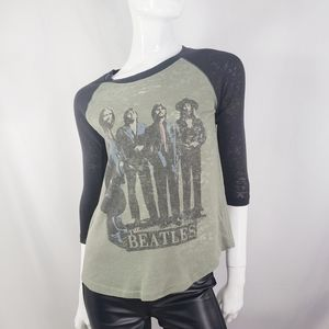 Junk Food Beatles Olive Green Thermal Small
